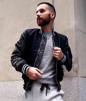 Slim Fit Street Jacket Trending Fashion Varsity Jacket