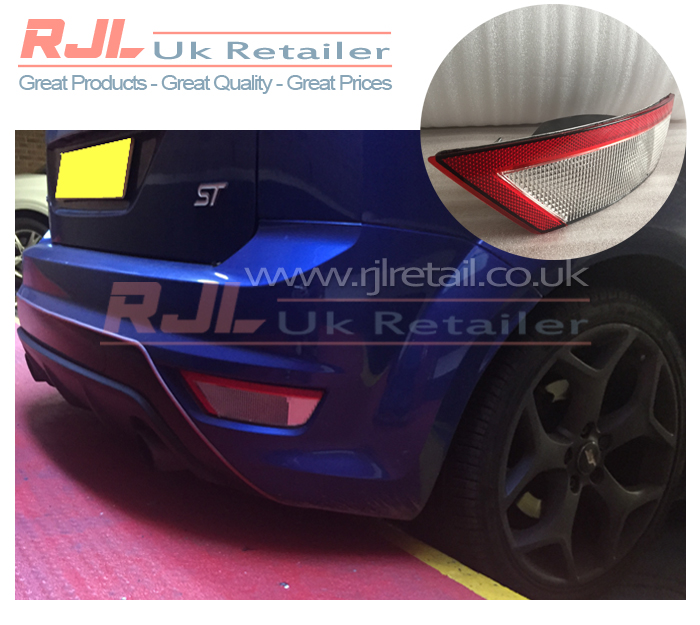 Focus Rear O/S Drivers Side Fog Light Reverse Lamp Euro Style