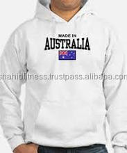 Australian clubs wears high quality cotton polyester hoodies