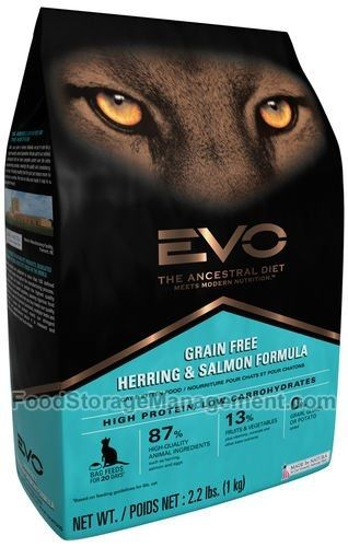 EVO Herring & Salmon Cat Food 2.2 Pounds