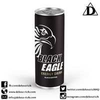Carbonated Energy Drink Black Edition