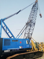 150 ton P&H used hydraulic Crawler crane 7150 Japan origin for sale