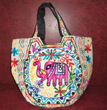 New Indian Lovely Suzani Hand Bag Banjara Gypsy Tote Bags