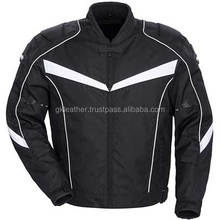Breathable Reissa Waterproof Cordura Motorbike Jacket / Motorbike Clothing