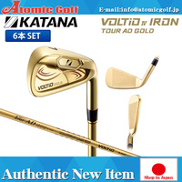Katana Golf bolt o IV iron set 6 pieces (6-AW) graphite design, original, Tour AD 400 KATANA VOLTIO IV