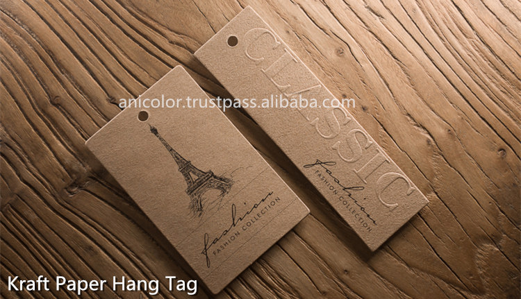 High-end Textures Specialty Paper Hang Tags for Clothing
