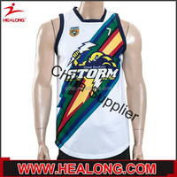 Healong Sport Sublimation Printing Chinese Wrestling Manufacturers