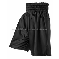 Black Boxing Trunks: Boxing Shorts: Boxing Vest Black.