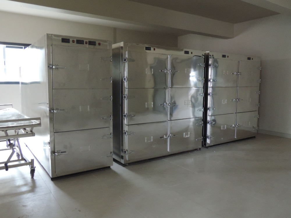 mortuary freezer chamber morgue human body cooler for sale 220V 240V 50/60HZ