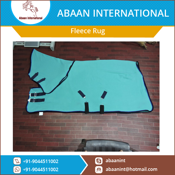 Skin Friendly Horse Fleece Rugs at Wholesale Rate