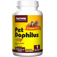 Pet Dophilus Powder, 2.5 oz by Jarrow Formulas