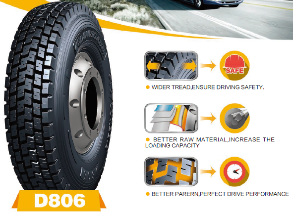 Low price 315/80R22.5 Chinese truck tyre for Drive wheel
