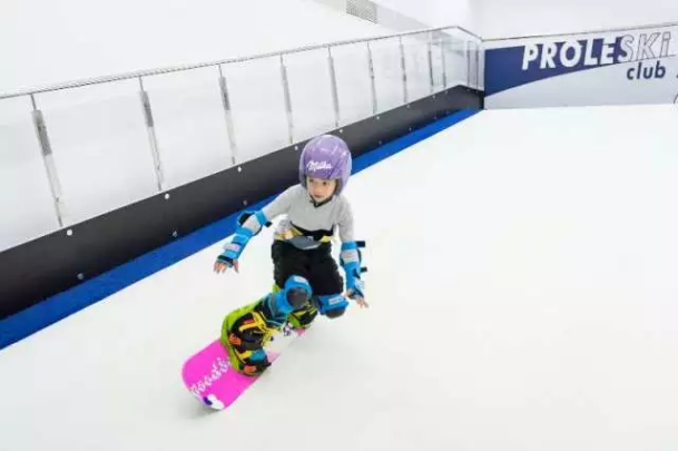 Buy in Hong Kong Infinite revolving slopes PROLESKI ski and snowboard Winter sports training Indoor snowboard and ski simulator