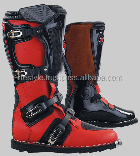 funky motorcycle boots red motorcycle boots motorcycle police bootsboots mens leather motocross shoes atv boots dirt biker shoes