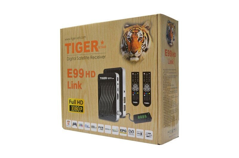 tiger E99 HD link DVB-S2 HD FTA PowerVu satellite tv receiver