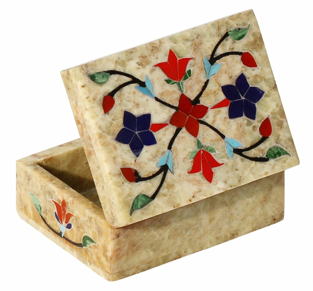 marble box inlay ''6x4'' inch