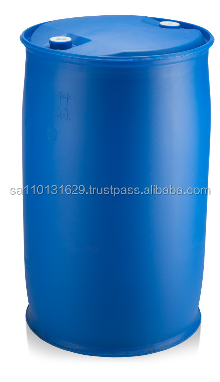 220LTR HDPE L RING CLOSED TOP DRUMS