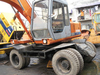 original from japan used hitachi 100 wheel excavator in china
