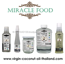 Pure cold pressed Extra virgin coconut oil / organic Coconut oil from Thailand for premium grade and cooking grade