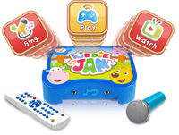 Kiddie Jam The Digital Music Buddy (Sing, Watch Videos, Play Apps)
