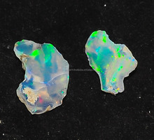 WHOLESALE DEALS GENUINE RAINBOW FIRE ETHIOPIAN WELO OPAL ROUGH GEMSTONE OPAL