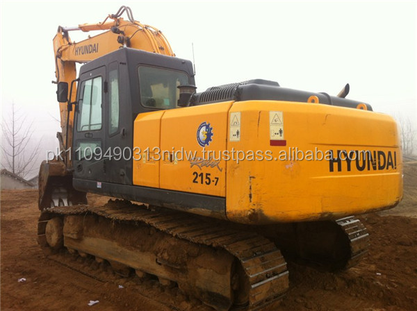 Used Hyundai Excavator R215, Korean Hyundai Excavator 215 for sale