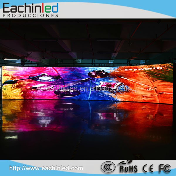 Rental Led Display Indoor Outdoor p5.95 Led Video Screen Support Curved