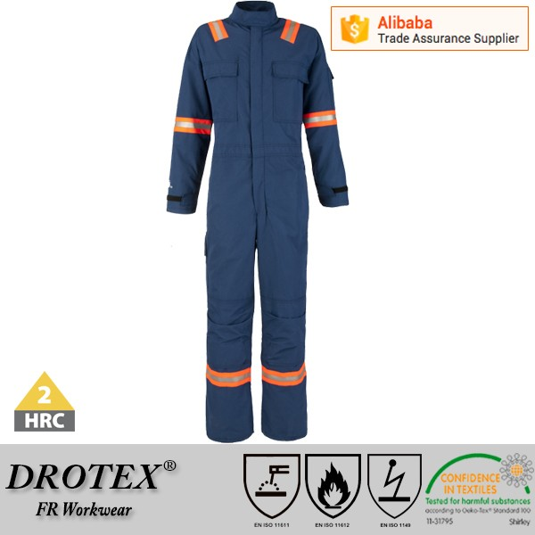 Drotex ASTM F1959 arc flash fire retardant and flame resistant clothing / safety workwear