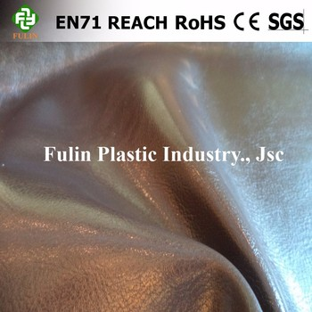 Soft Upholstery Sofa Fabric Pvc/Semi Pu Leather
