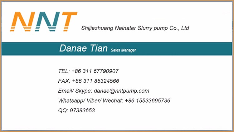 New type 50ZJ-I-A33 slurry pump factory direct prices