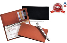 2016 New Casual Genuine Leather Checkbook Cover Manufacturers in India