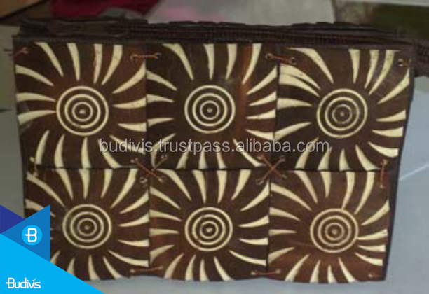 Thanksgiving Value Item Coconut Shell Wallet By Name Carving