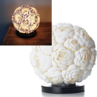 Shell Rose table lamp small