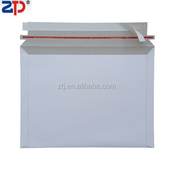 White Cardboard CD/DVD sleeve mailers