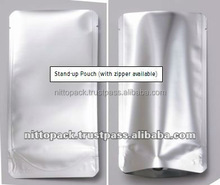 Reliable flexible gravure printed pouchs for japan dried fruit importers with multiple functions made in Japan