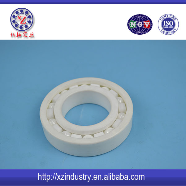 Full Ceramic ball bearing of Zirconia deep groove ball bearing 6204 with high quality