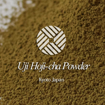 new products and High quality hoji tea with A Japanese confectionery maker uses.