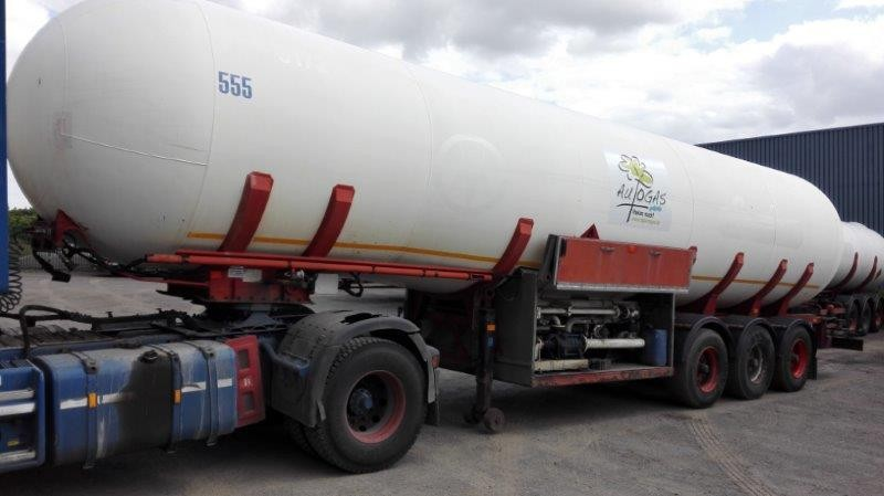 LPG Semi-Trailer Tanker - +/- 53 000 Liters