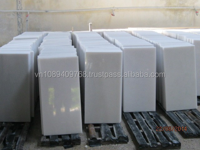 Vietnam pure Crystal White Marble size 40x80x3cm