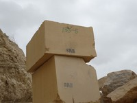 Blocks of Sandstone Mango for Export - Pakistan