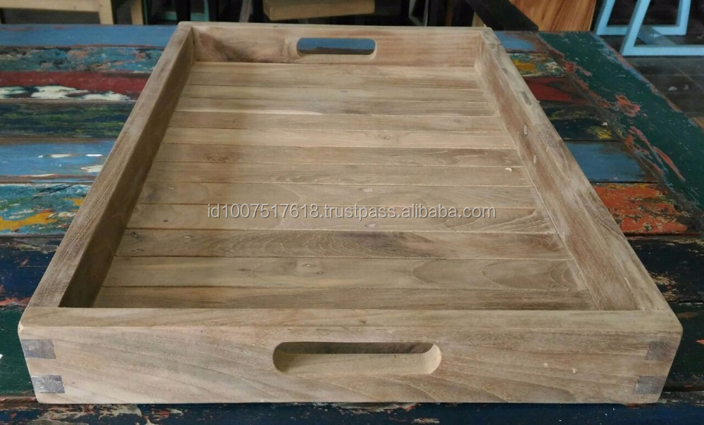 AMI TEAK WOOD TRAY