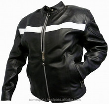 Motorbike jackets - new design for men zipper motorbike jackets Leather Motorbike Racing Jackets, Genuine Cow Hide Leather