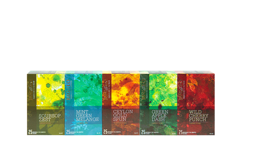 Regalo Flavored tea collection