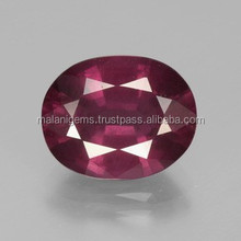 6ct Raspberry Red Rhodolite Garnet 12mm x 9.5mm