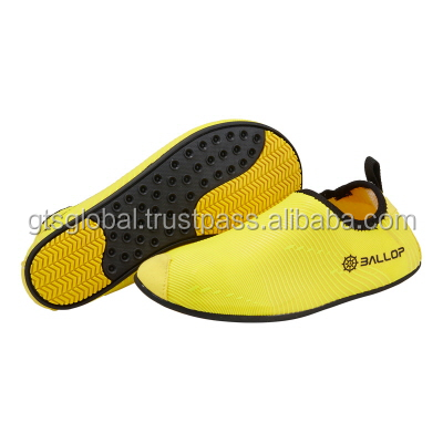 Anti-slip water shoes, Water Shoes, Aqua Skin Shoes, Surfing Shoes, Fitness, Gym, Yoga Shoes---Ballop Wave Yellow