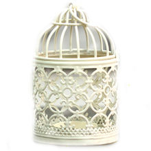 iron white mini beautiful lantern for decor