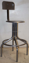 Metal Swivel Industrial Stool