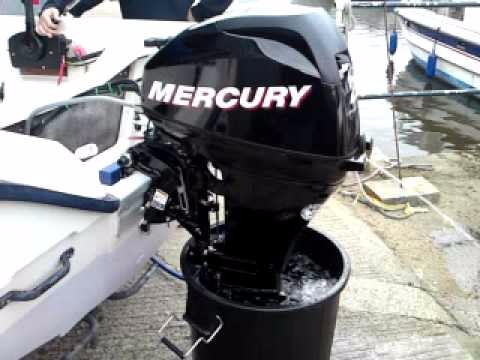 Used Mercury 20 hp Four Stroke outboard Motor