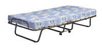 Hardwood Solid With Fabric Ultra-Comfortable Roma Folding Bed Simple And Easy To Use.