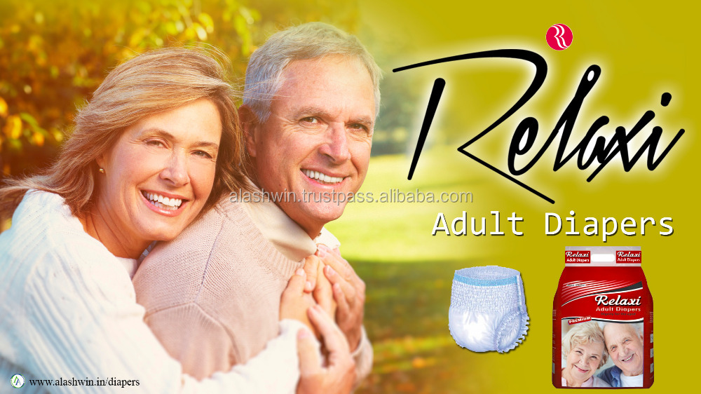 Custom senior breathable adult diaper